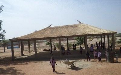 Il centro sociale di Djicofé